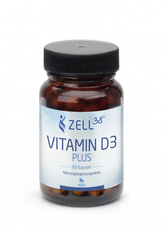 Zell38 Vitamin D3 plus