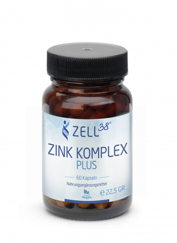 Zell38 Zink Komplex plus